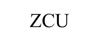 mark for ZCU, trademark #85466420