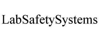mark for LABSAFETYSYSTEMS, trademark #85466475