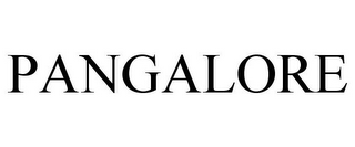 mark for PANGALORE, trademark #85466583