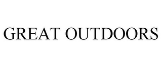mark for GREAT OUTDOORS, trademark #85466695
