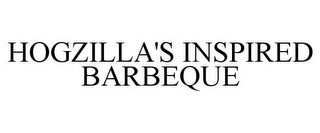 mark for HOGZILLA'S INSPIRED BARBEQUE, trademark #85466696