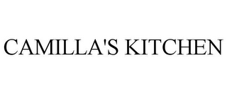 mark for CAMILLA'S KITCHEN, trademark #85467356