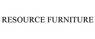 mark for RESOURCE FURNITURE, trademark #85467869