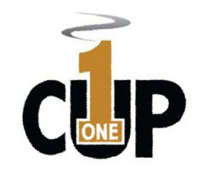 mark for 1 ONE CUP, trademark #85468086