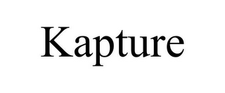 mark for KAPTURE, trademark #85468097