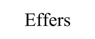 mark for EFFERS, trademark #85468168