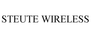 mark for STEUTE WIRELESS, trademark #85468224