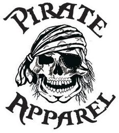 mark for PIRATE APPAREL, trademark #85468270