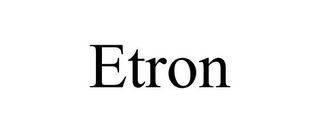 mark for ETRON, trademark #85468319