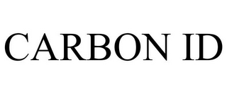 mark for CARBON ID, trademark #85470029