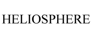 mark for HELIOSPHERE, trademark #85470338