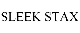 mark for SLEEK STAX, trademark #85470362