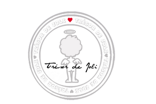 mark for TRÉSOR DE JOLI, trademark #85470897