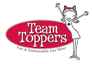 mark for CHEER-EARS, FUN AND FASHIONABLE FAN WEAR, trademark #85471166