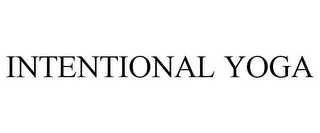 mark for INTENTIONAL YOGA, trademark #85471274