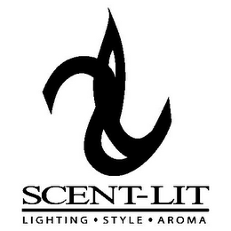 mark for SCENT-LIT LIGHTING · STYLE ·AROMA, trademark #85471626