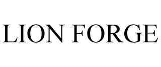 mark for LION FORGE, trademark #85471839