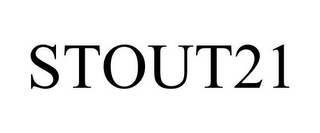 mark for STOUT21, trademark #85471842