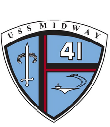 mark for USS MIDWAY 41, trademark #85472093