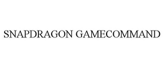 mark for SNAPDRAGON GAMECOMMAND, trademark #85472215