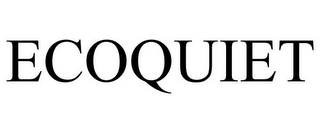 mark for ECOQUIET, trademark #85472624