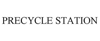 mark for PRECYCLE STATION, trademark #85472727