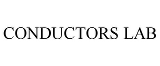 mark for CONDUCTORS LAB, trademark #85473018