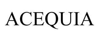 mark for ACEQUIA, trademark #85473607