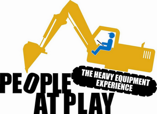mark for PEOPLE AT PLAY THE HEAVY EQUIPMENT EXPERIENCE, trademark #85473798