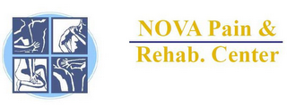 mark for NOVA PAIN & REHAB. CENTER, trademark #85473999