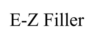 mark for E-Z FILLER, trademark #85474530