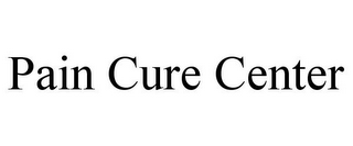 mark for PAIN CURE CENTER, trademark #85474649