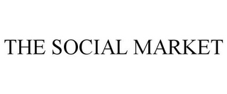 mark for THE SOCIAL MARKET, trademark #85474851