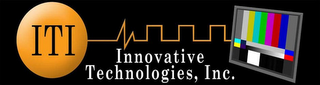 mark for ITI INNOVATIVE TECHNOLOGIES, INC., trademark #85475016