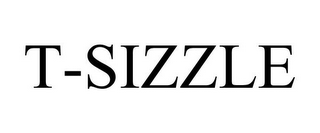 mark for T-SIZZLE, trademark #85475097