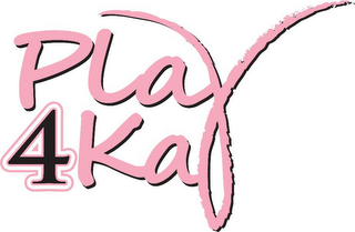mark for PLAY 4KAY, trademark #85475238