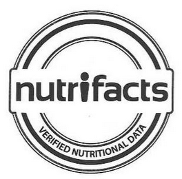 mark for NUTRIFACTS VERIFIED NUTRITIONAL DATA, trademark #85475643
