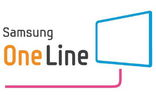mark for SAMSUNG ONE LINE, trademark #85475835
