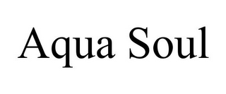 mark for AQUA SOUL, trademark #85475942