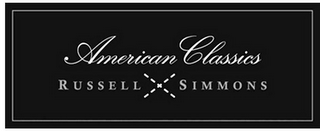 mark for AMERICAN CLASSICS RUSSELL X SIMMONS, trademark #85476312