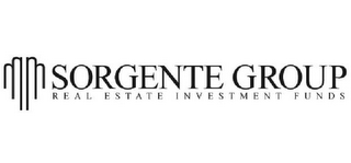 mark for SORGENTE GROUP REAL ESTATE INVESTMENT FUNDS, trademark #85476995