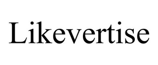 mark for LIKEVERTISE, trademark #85477178