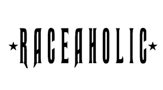 mark for RACEAHOLIC, trademark #85477346