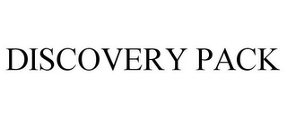 mark for DISCOVERY PACK, trademark #85477926
