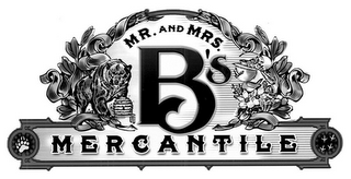 mark for MR. AND MRS. B'S MERCANTILE, trademark #85478027