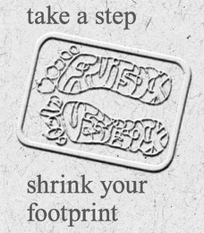 mark for TAKE A STEP FRUITSOCK VEGGIESOCK SHRINK YOUR FOOTPRINT, trademark #85478042