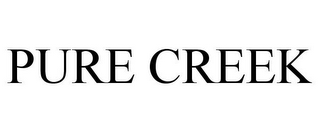 mark for PURE CREEK, trademark #85478122