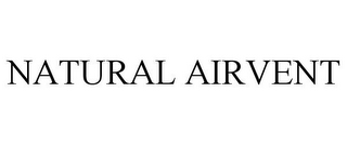 mark for NATURAL AIRVENT, trademark #85478155