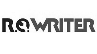 mark for R.O. WRITER, trademark #85478245