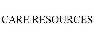 mark for CARE RESOURCES, trademark #85478588